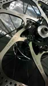 Brand new rotors