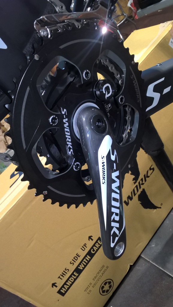 Comes with a Quarq power meter!!!